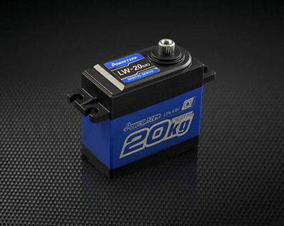 POWER HD LW-20MG Waterproof Digital Servo 20kg TRAXXAS SLASH REVO LOSI ARMA HPI