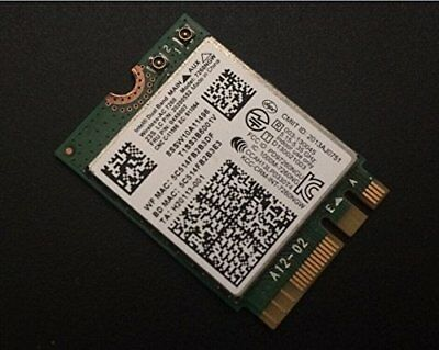 Intel Wireless-AC 7260 WiFi Bluetooth 4.0 04X6007 20200552 For Lenovo T4 X2 Seri for sale  Shipping to India