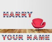 Union Jack Wall Stickers