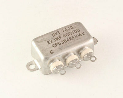 New 1 Pcs. Nyt 2uf 600vdc Hermetically Sealed Oil Capacitor 600 V 600v