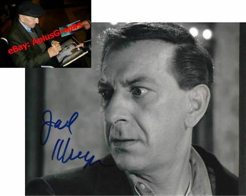 JACK KLUGMAN.. The Twilight Zone - SIGNED