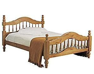antique pine double beds