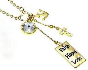 Faith hope love home decor ebay faith hope love necklaces aloadofball Choice Image