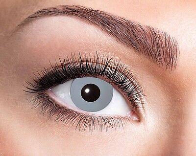 Eyecatcher Motiv Linsen Vampire Grey 745 farbige 12 Monats Kontaktlinsen