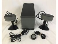 BOSE 'Companion 5' 5.1 PC Multimedia System - Acoustimass Subwoofer - 2 Stand Speakers - Control Pod