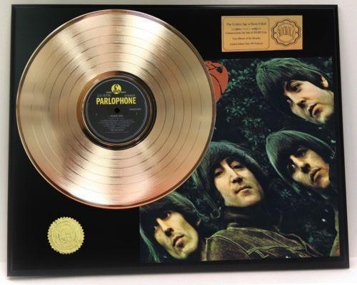 Beatles Gold Record Award Ebay