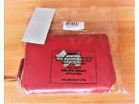 Genuine Radley Red Leather Heritage Design Medium Purse Brand New In Original Packaging
