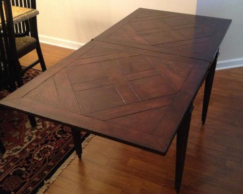 Antique Wood Card Table Ebay