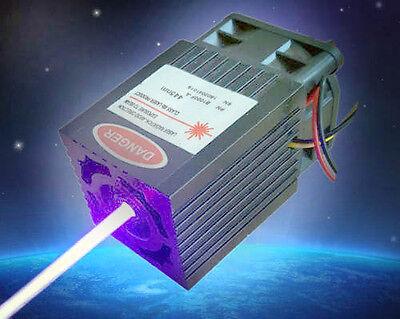 2w 450nm 12v Blue Laser Module For Laser Showlaser Engravingttl Modulation