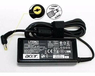 Acer 65W AC Adapter Charger with Power Cord