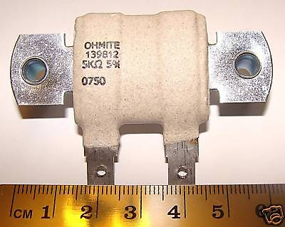 10pcs Ohmite 5.0k Ohm 30 Watt 30w 5 Wire Wound Wirewound Power Resistor Usa