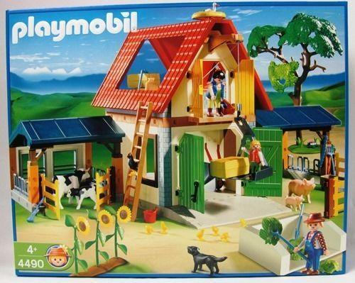 playmobil bauernhof 4490 ebay. Black Bedroom Furniture Sets. Home Design Ideas