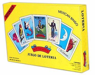 Autentica Loteria Gift Box Set Gallo Don Clemente Juego De Loteria Mexican Bingo