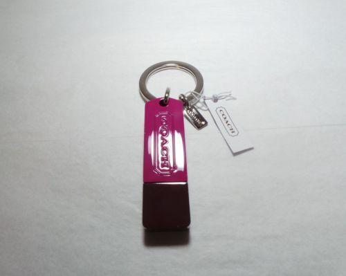 Coach Pink Keychain Key Chains Rings Amp Finders Ebay