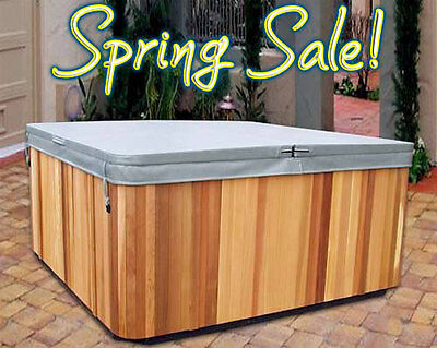 FREE 2LB CORE UPGRADE! Hot Tub Covers and Spa Covers Made to Fit +5 Yr Guarantee