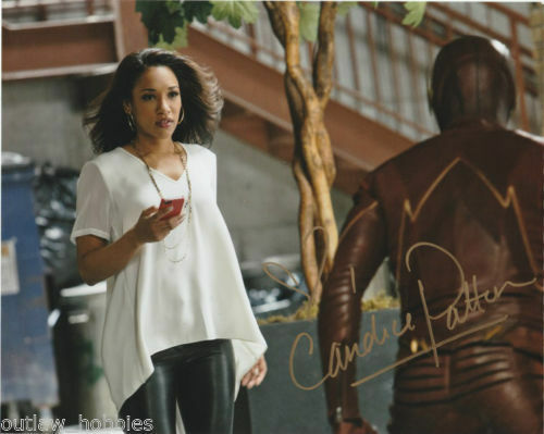 The Flash Candice Patton Autographed Signed 8x10 Photo COA #5