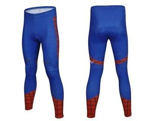 Legging Spiderman de cycliste