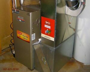 Furnaces, Hot Water Heaters, Garage Heat - Installed