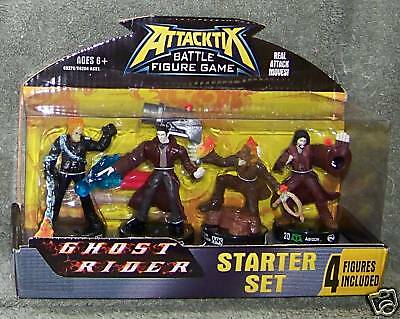 ATTACKTIX BATTLE FIGURE GAME GHOST RIDER STARTER SET AGES 6+