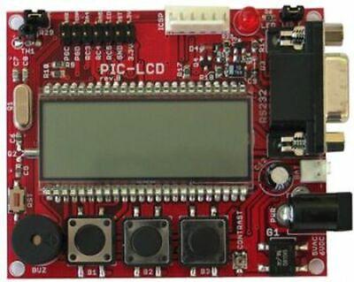 Microchip Pic18f8490 Development Board Lcd Rs232 Icsp