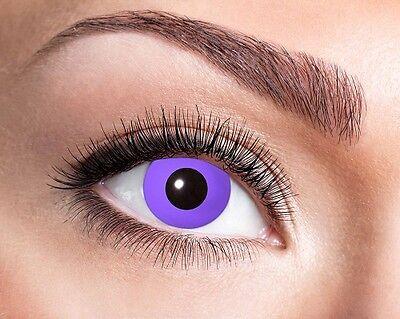 Eyecatcher Motiv Linsen Purple Gothic 651 farbige 12 - Gothic Kontaktlinsen