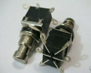 2pcs-LOCKING-DPDT-ON-ON-Stomp-Foot-Switch-GUITAR-EFFECTS-Pedal-ENCLOSURE-BOX-202