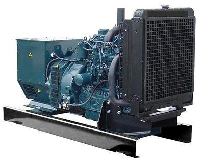 40KW Single Phase 120/240 V Kubota Diesel Generator Set NEW Engine