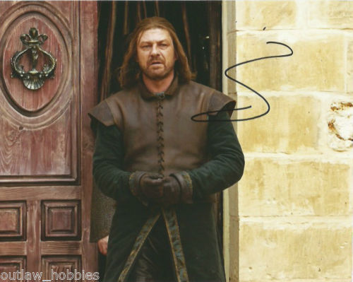 Sean Bean Game of Thrones Autographed Signed 8x10 Photo COA #1