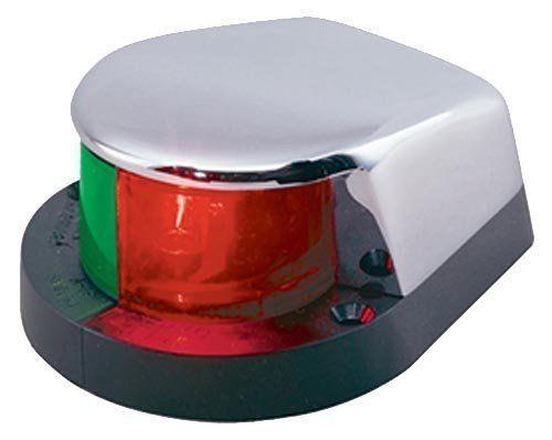 Perko Marine Bi-Color Bow Light Chrome Plated Zinc - 1310DP0CHR