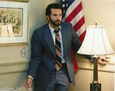 Bradley Cooper American Hustle  Autographed Signed 8X10 Photo Coa  1