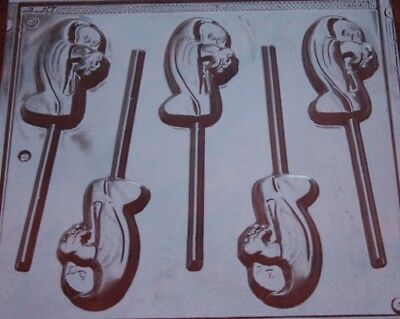 GHOST LOLLIPOP CHOCOLATE CANDY MOLD DIY HALLOWEEN PARTY FAVORS TRICK OR TREAT](Diy Halloween Party Treats)