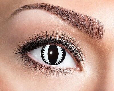 Eyecatcher Motiv Linsen Cat Eye 930 farbige 12 Monats Kontaktlinsen  (Cat Eye Kontakt)