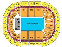 Platinum Drake tickets X2 / standard tickets X2
