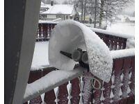 Satellite TV LNB Weather Protection