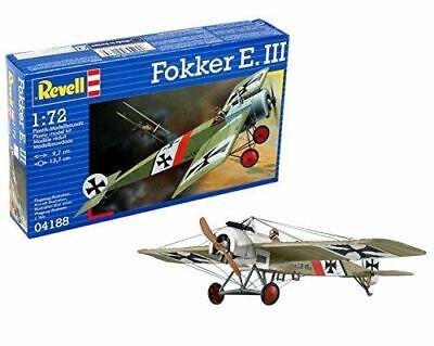 Revell 1:72 Fokker E- Lii Kit Modello 04188
