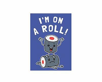 I'M en Un Rollo - Comida Obra Refrigerador Imán, Exclusivamente Oficial Original