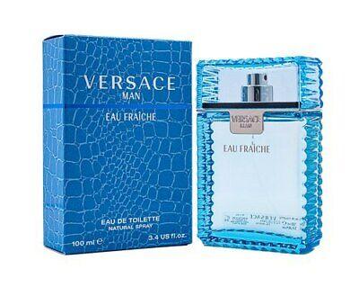 Versace Man Eau Fraiche by Gianni Versace 3.4 oz EDT Cologne