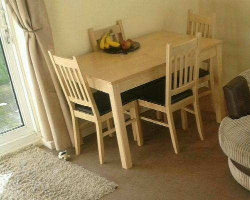 Used Dining Table And Chairs Ebay