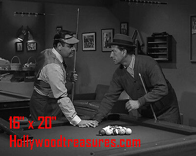 "Twilight Zone~Playing Pool~#3~Pool~Pool Hall~Billiards~Poster~16"" x 20"" Photo"