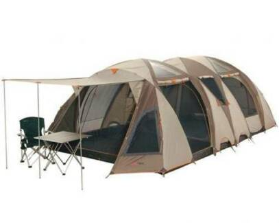 Tent Black Wolf Sahara 8 x 8  sc 1 st  Gumtree & Black Wolf Turbo Plus 300 Canvas Tent - excellent condition ...