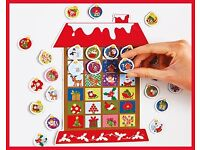 Magnetic House Advent Calender