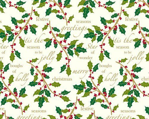 Extra Long Christmas wrap, 10 metres long and 55cm wide