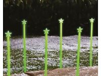 Set of 10 Glow In The Dark Star Path Finders (NEW)