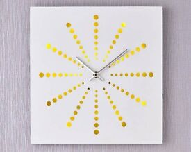 White Light Up Clock (NEW)