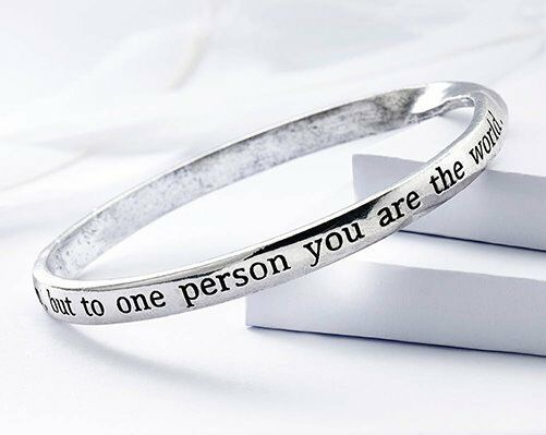 You Are The World Bangle (New)
