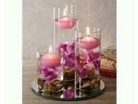 Beautiful floating candles