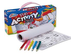 ACTIVITY ROLL AND PENCILS