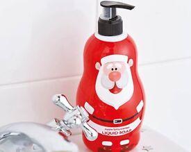 Santa Apple Spiced Fragrenced Liquid Soap (NEW)