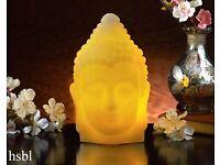 Light up Wax Buddha Head