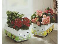 Set Of 2 camper van planters